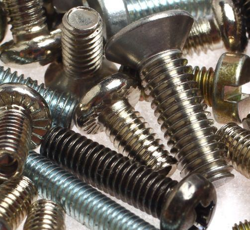 Screws with metric thread