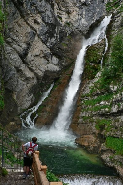Bohinj waterfall