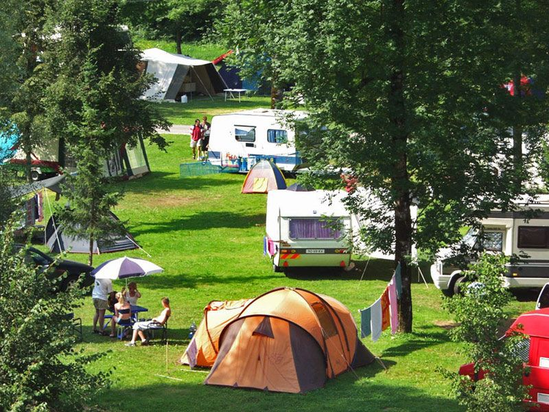 Camping in Slovenia