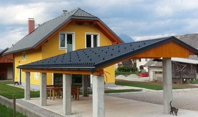 Steel and metal roof tiles