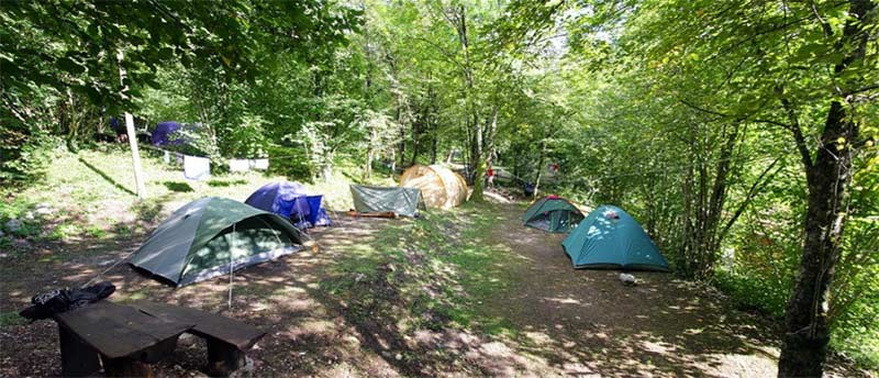 Eco friendly camping sites