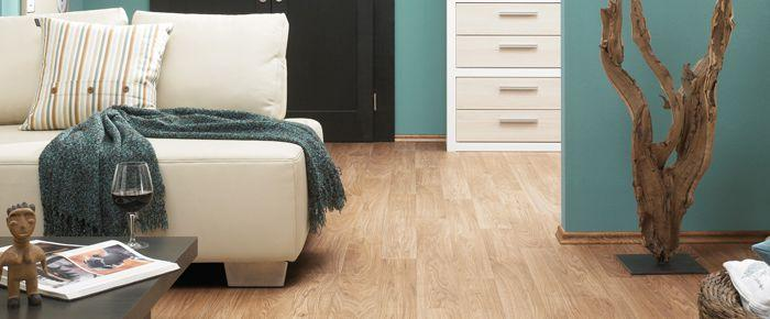 Padding under laminate flooring