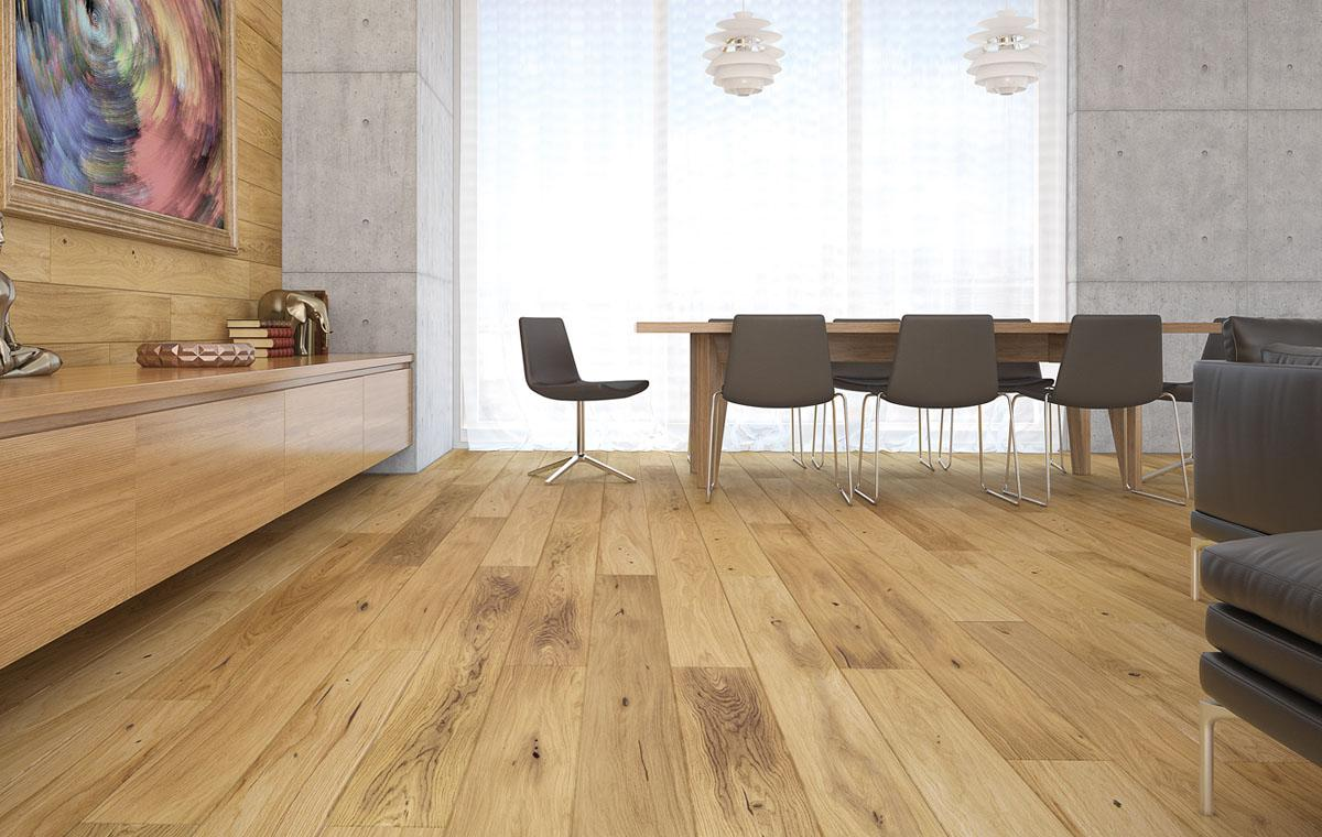 what is the difference between laminate and wood flooring