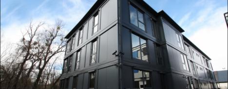 Portable office buildings storage