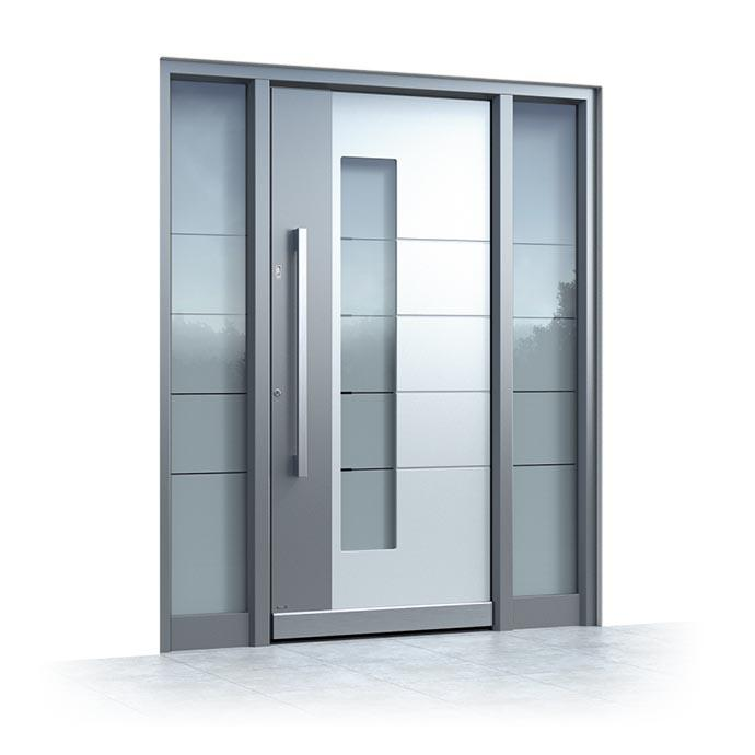 Aluminium entrance doors Pirnar