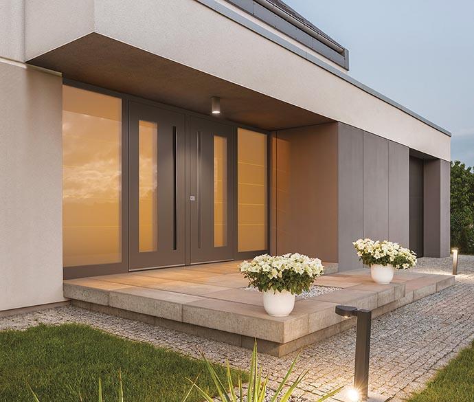 Contemporary exterior doors Pirnar