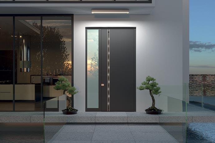 Luxury exterior front doors Pirnar
