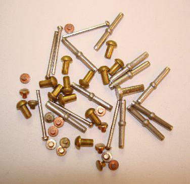 Rivets and pins