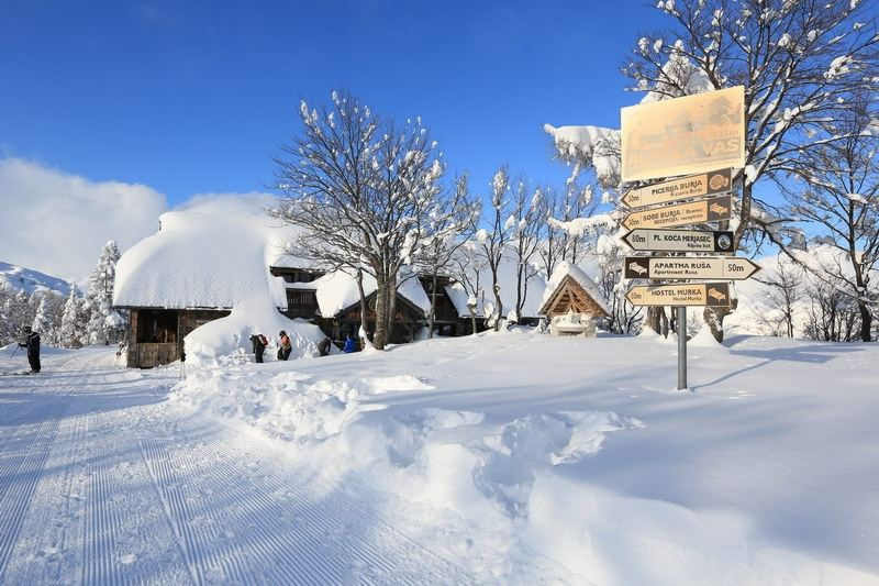 Ski resorts in Slovenia