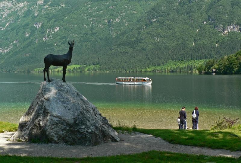 Lake Bohinj Slovenia