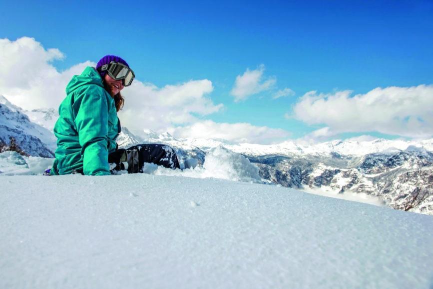 Skiing in Bohinj Slovenia