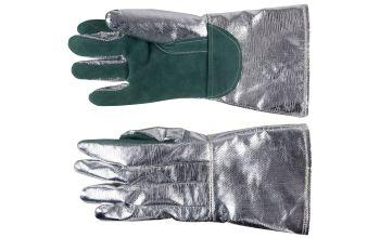 Safety gloves for welding