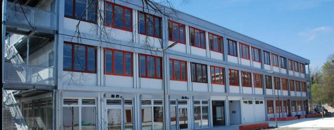Prefabricated modular office building