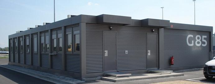 prefabricated modular units