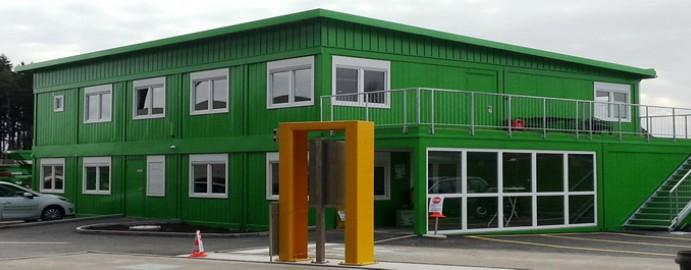 Green modular school buildings