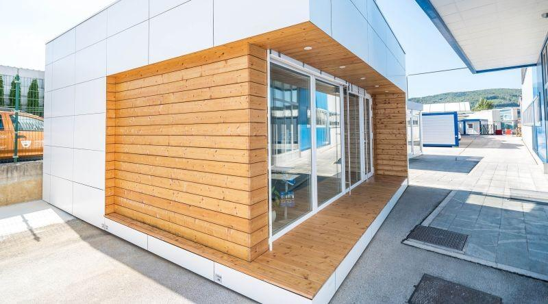 Small modular office buildings