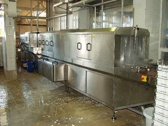Industrial washing machine Nieros