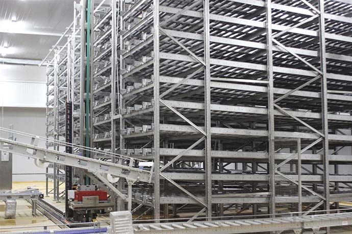 Warehouse racking system for management
