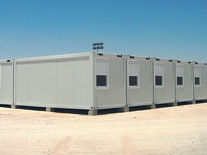 Modular office buildings are quick to build and easy to assemble.