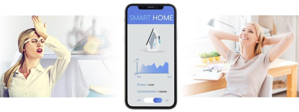 Smart home wireless system
