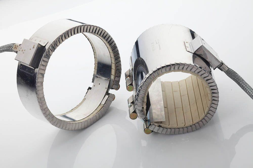 Ceramic Band Heater in stainless steel housing