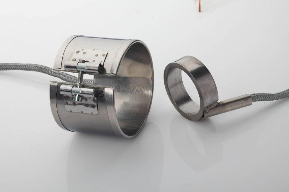 Micanite Band Heater in housing made of stainless steel plates