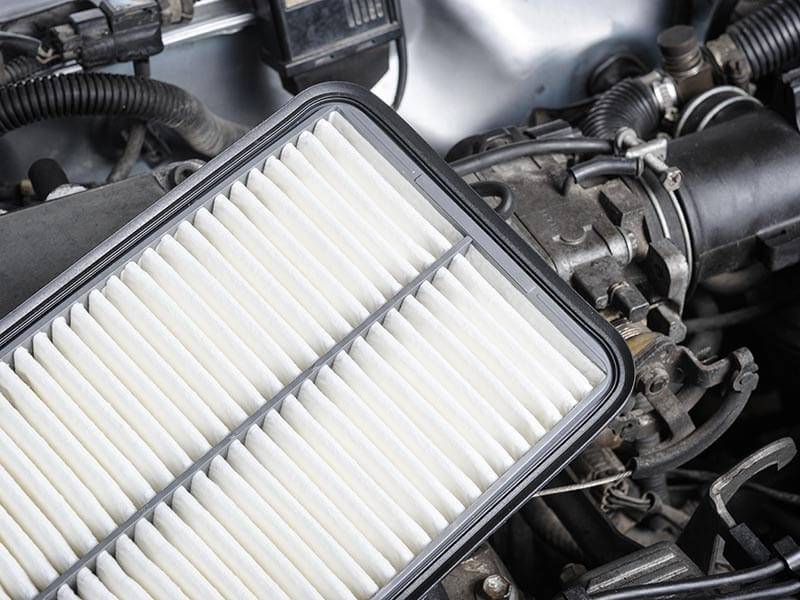 Air filtration for automotive