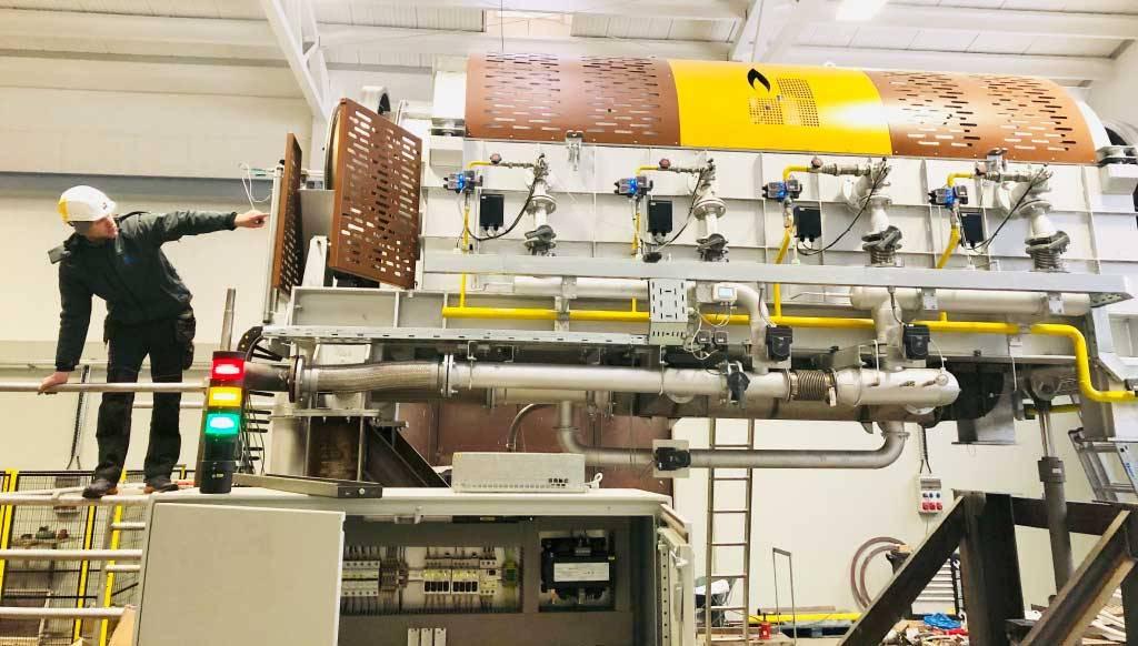 Industrail ovens in Procesni Inženiring