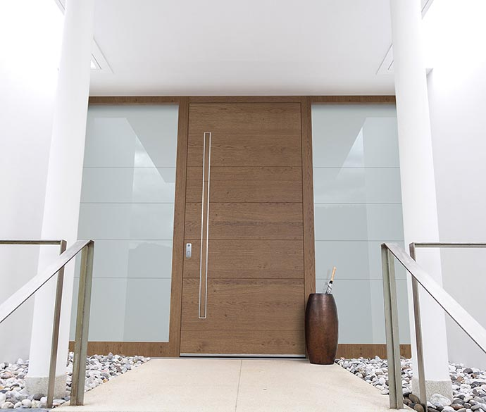 Contemporary exterior entry doors Pirnar