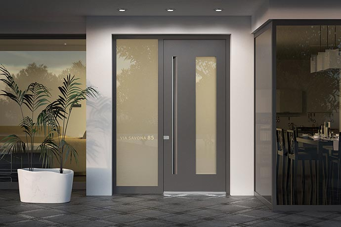Luxury exterior doors Pirnar