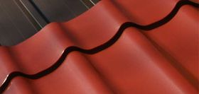 Steel or tin roof tiles