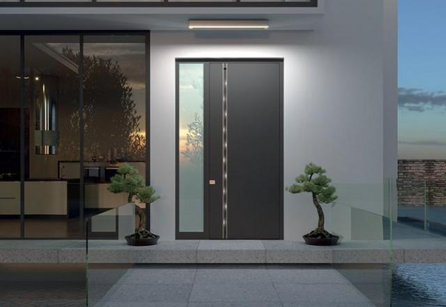 Luxury entrance doors